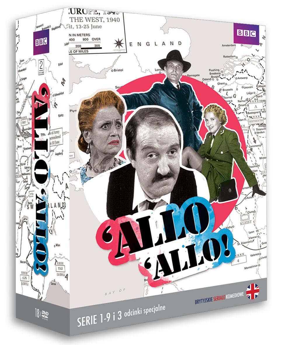Item ALLO ALLO! 18x DVD Complete edition of the series [BOX]