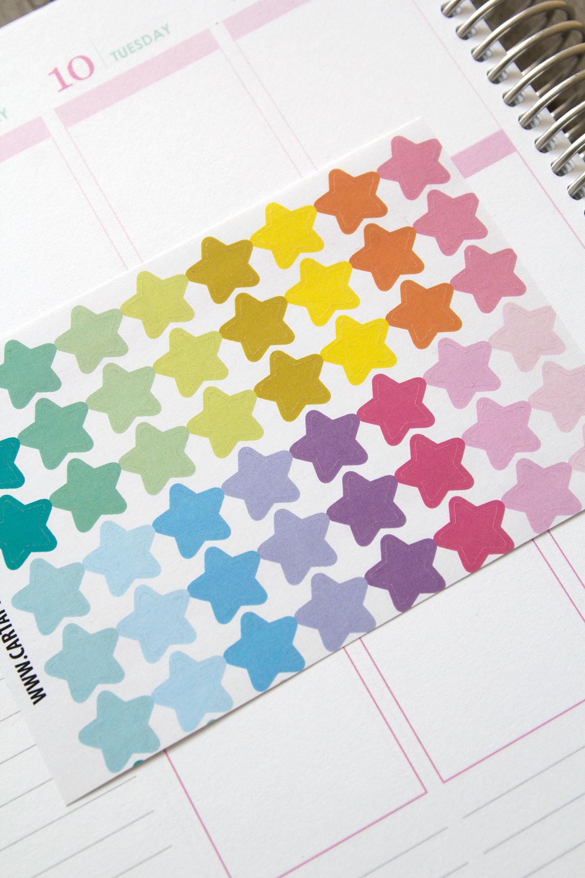 Naklejki IKONKI planer organizer kalendarz