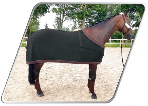 Derka Ariel Fleece Black 145 cm pre koňa