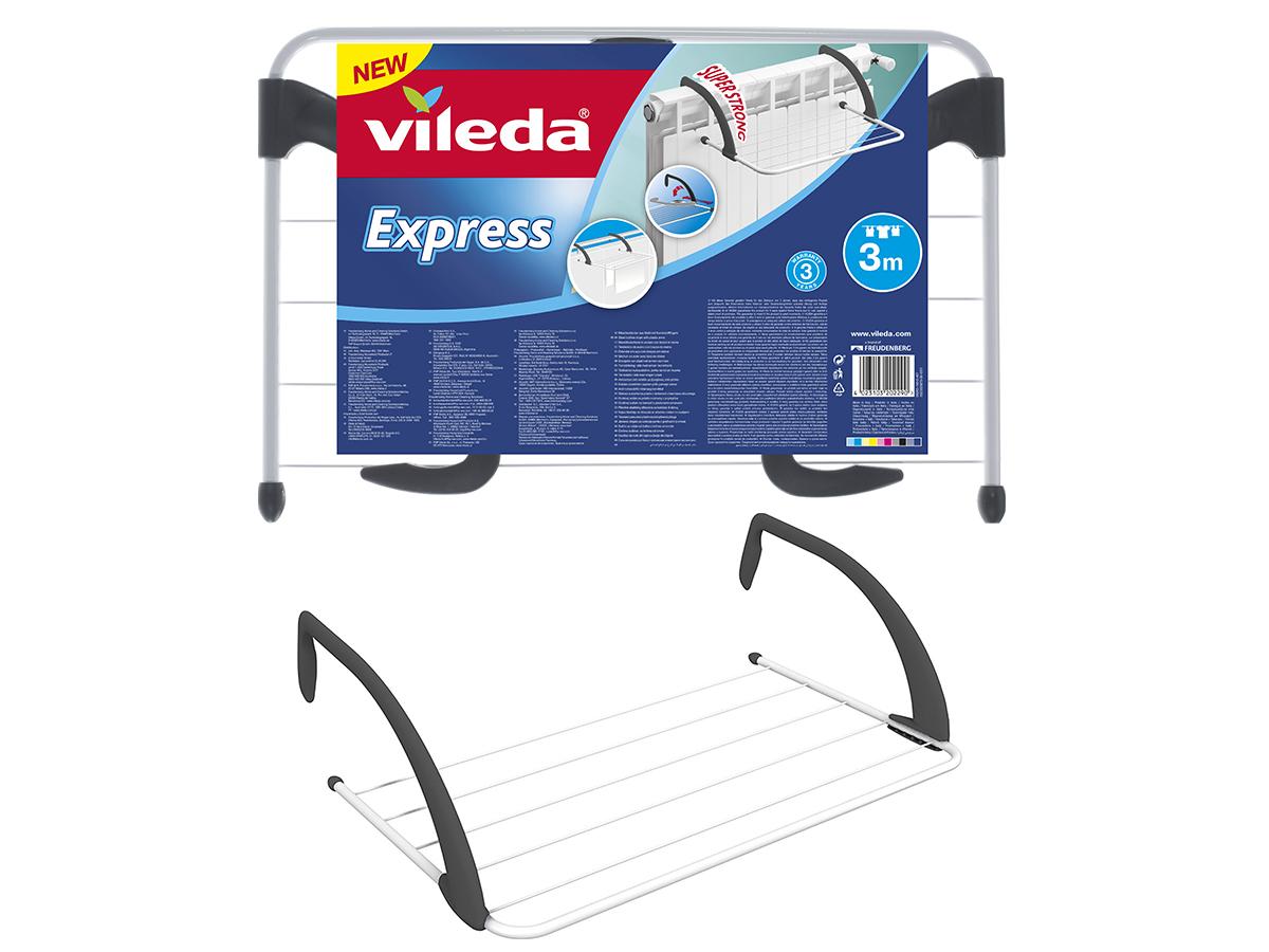 VILEDA Suszarka grzejnikowa na pranie Express