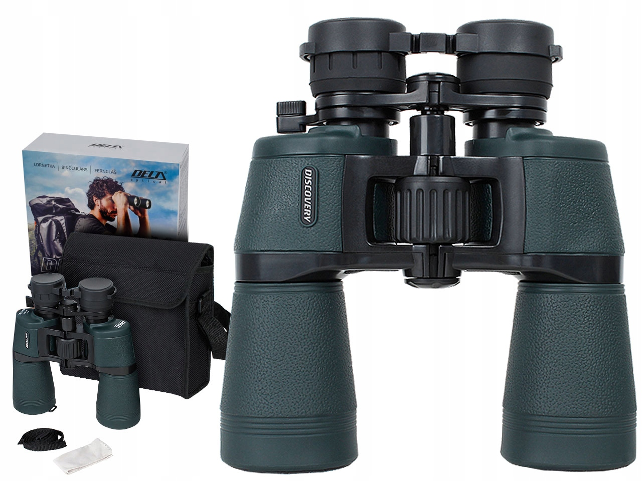 Item Delta Optical DISCOVERY Binoculars 10-22x50 ZOOM