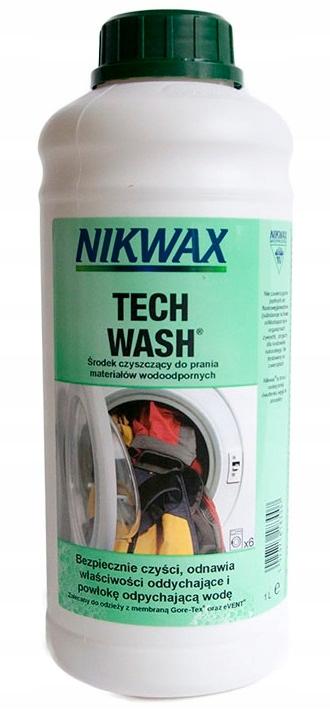 MYDŁO do prania odzieży outdor NIKWAX Tech Wash 1L