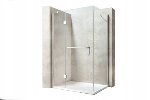 Sprcha skladacie Swiss 130x80 8mm V7000