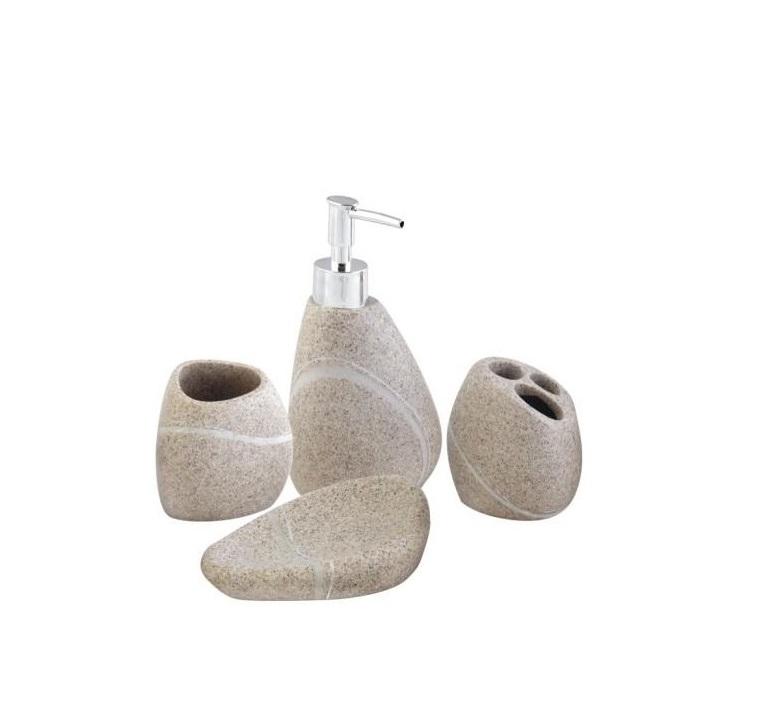 Skalná kúpeľňová súprava z keramiky AWD