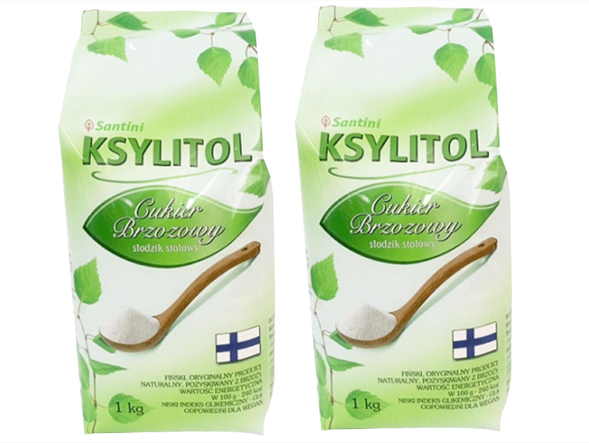 XYLITOL 2 kg fínsky 100% breza cukru, ekonomika