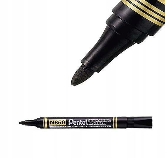 Item The permanent makeup MARKER PENTEL N850 BLACK ROUND K.