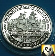 Isle of Man 1 Crown 2005 Trafalgar 4
