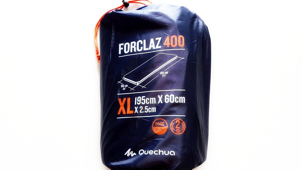 QUECHUA MAT MATRAC self-inflating život 195x60x2,5cm XL
