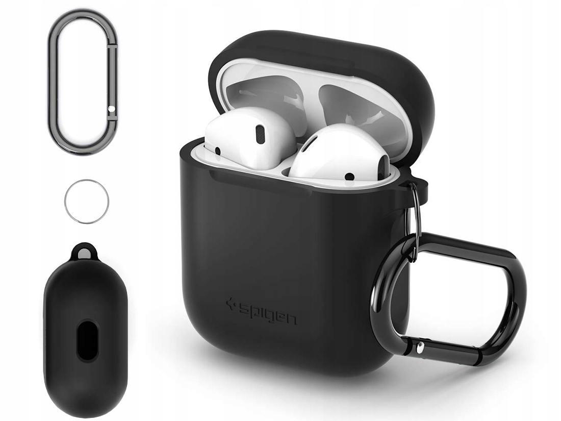 Spigen - Silikonowe Etui Case - Apple Airpods