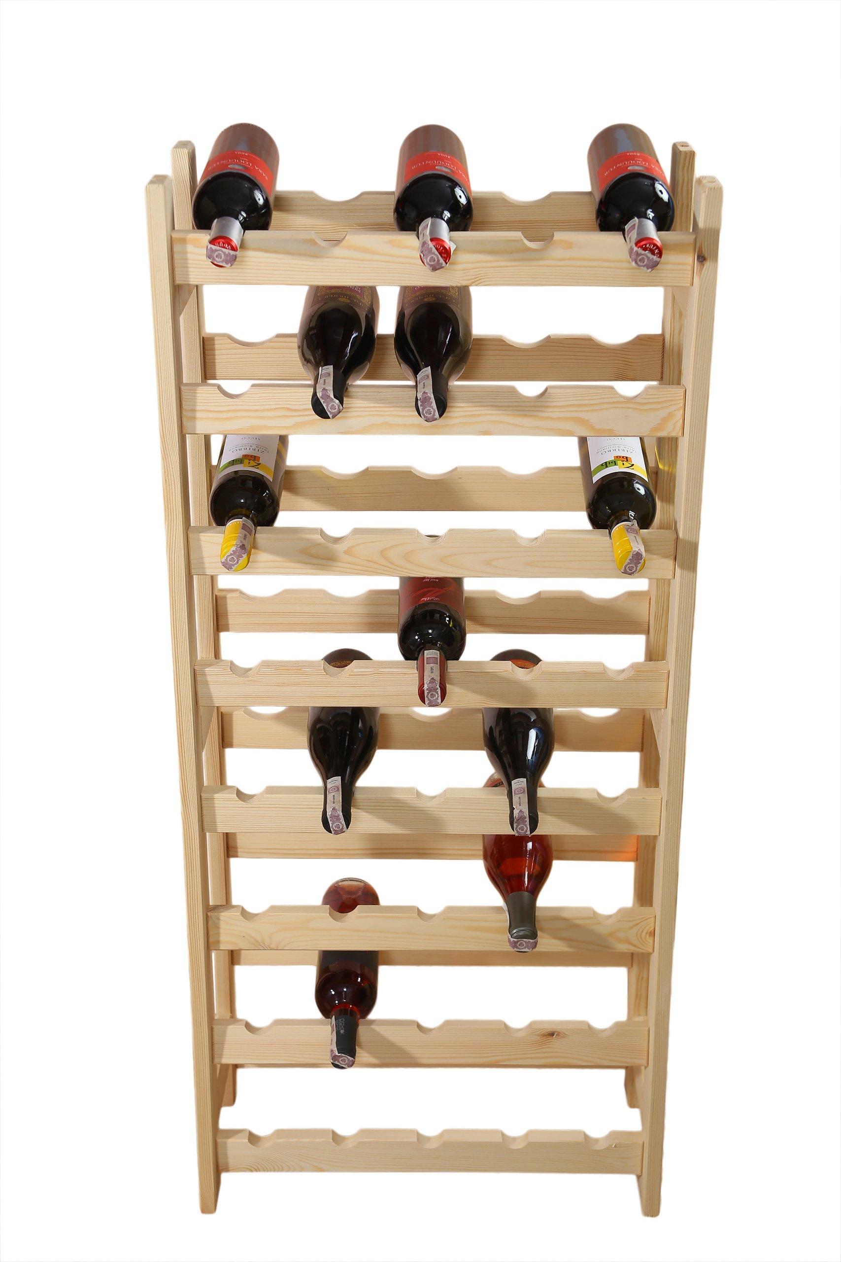 Шкаф книжный, винный стеллаж 40 бутылок (5х8), производитель