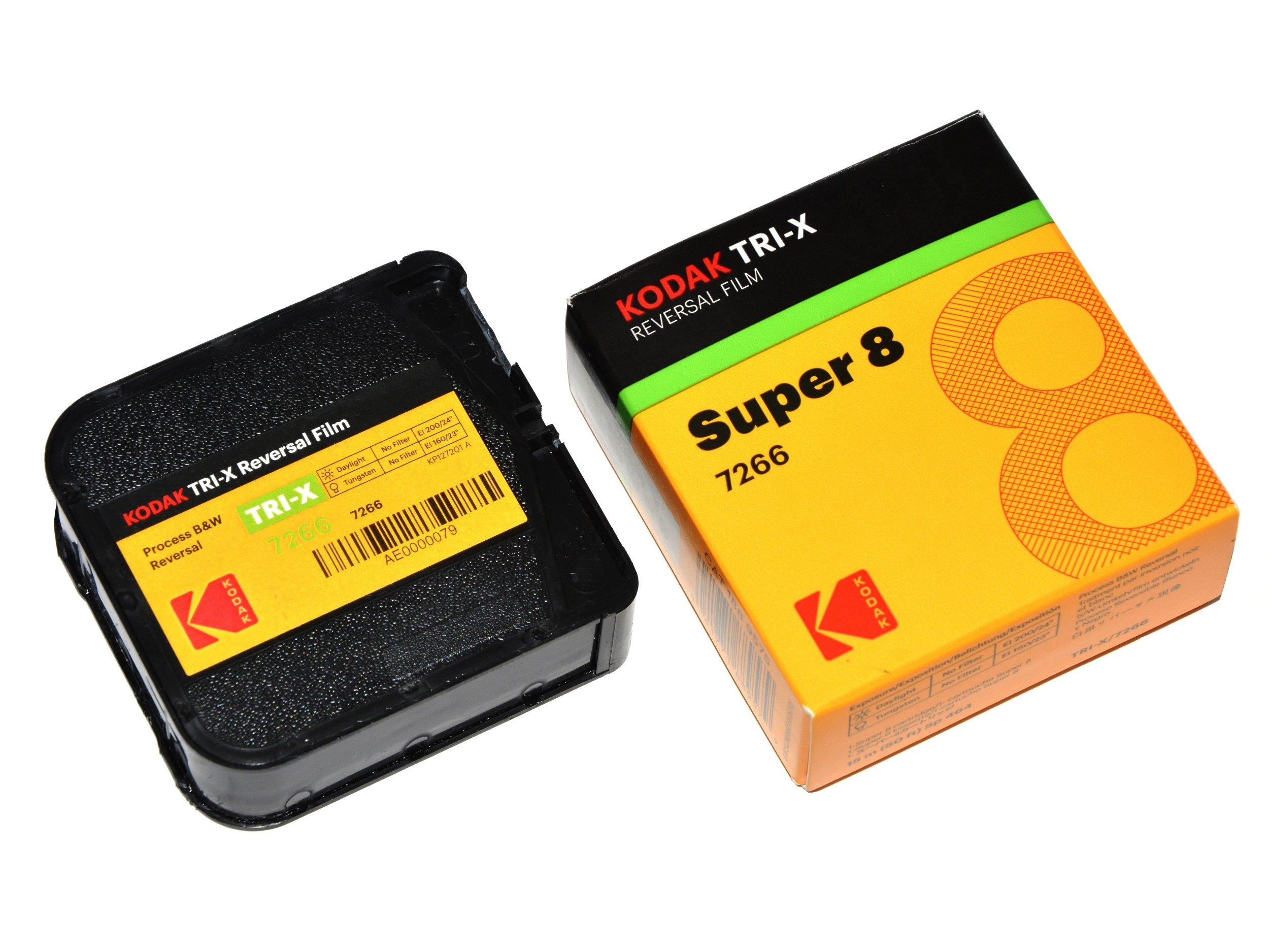 Kodak TRI-X 200 Film B & W na kameru Super 8 S8