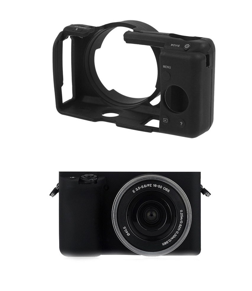 Item Protective SILICONE CASE cover PROTECTION for SONY Alpha A5000 alfa