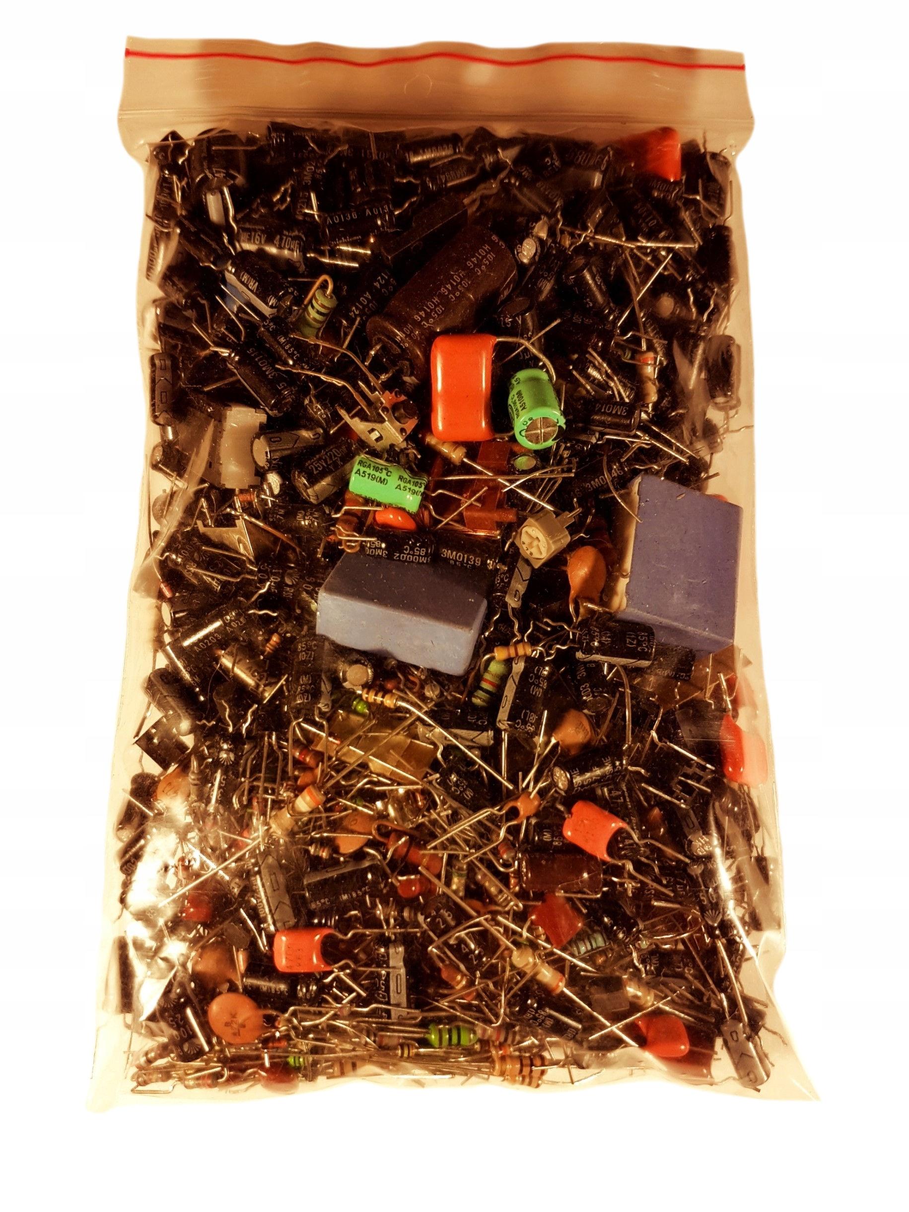 Набор элементов резисторов конденсаторы дроссельной смеси