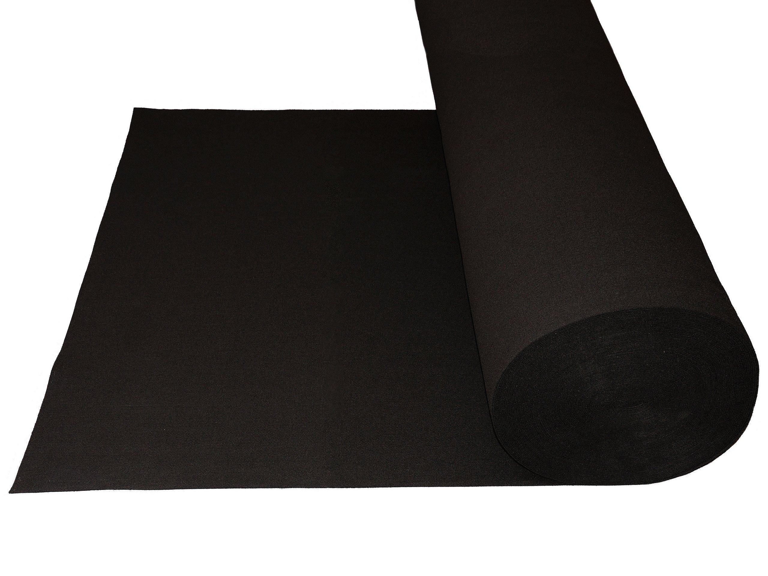 войлок черный мягкий 300g 3mm к вырезок как 1