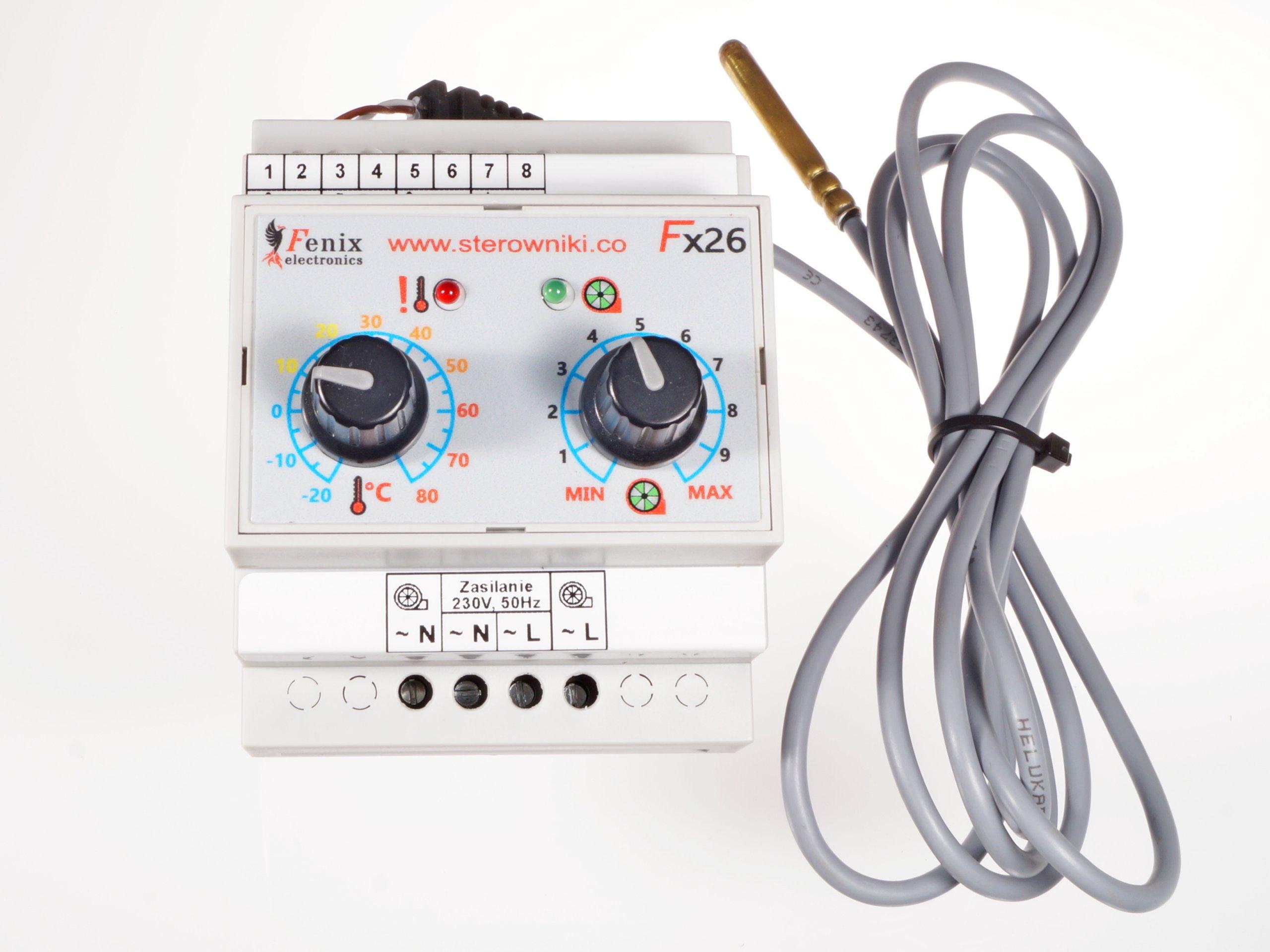 Контроллер вентилятора Fx26.1 регулятор скорости
