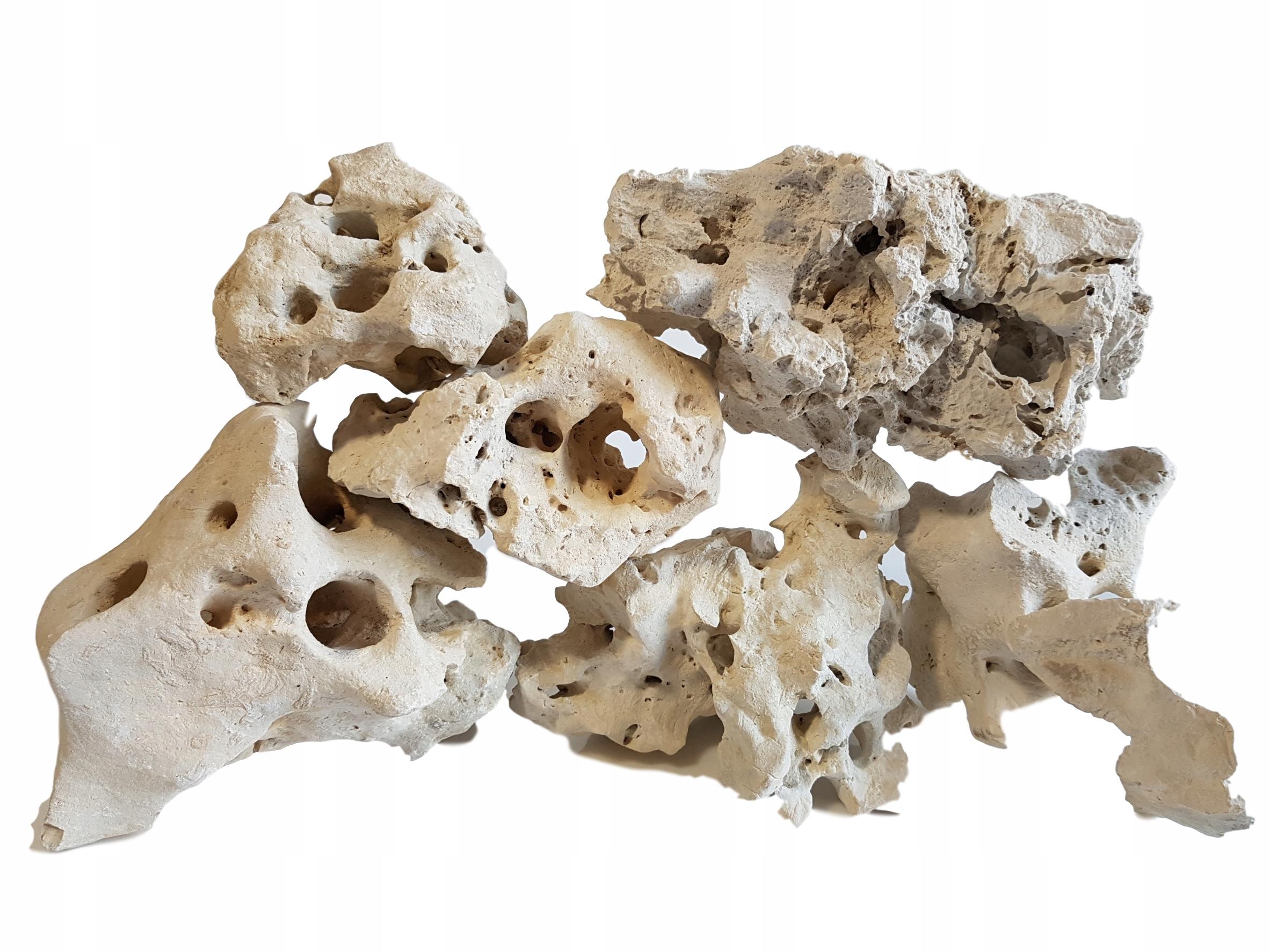 ROCK Kameň Vápenec Filipínske Akvárium 60 KG