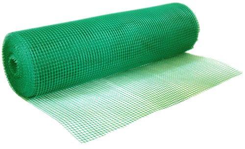 Siatka ogrodzeniowa na KRETY 0.60x50m ZIELONA PCV Waga produktu z opakowaniem jednostkowym 8.5 kg