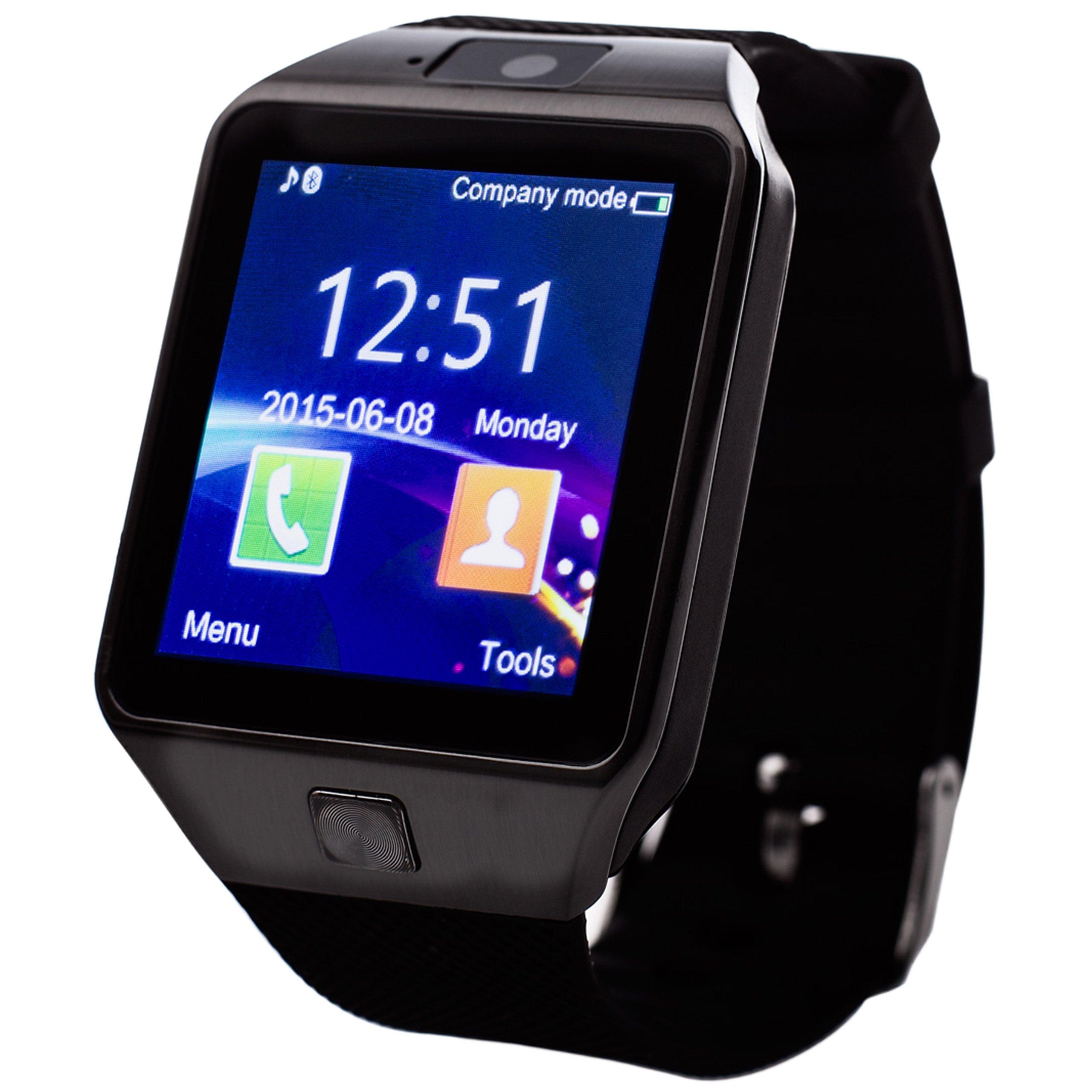 Item Smartwatch wrist Watch DZ-09 Camera Slot for the SIM Card, SD