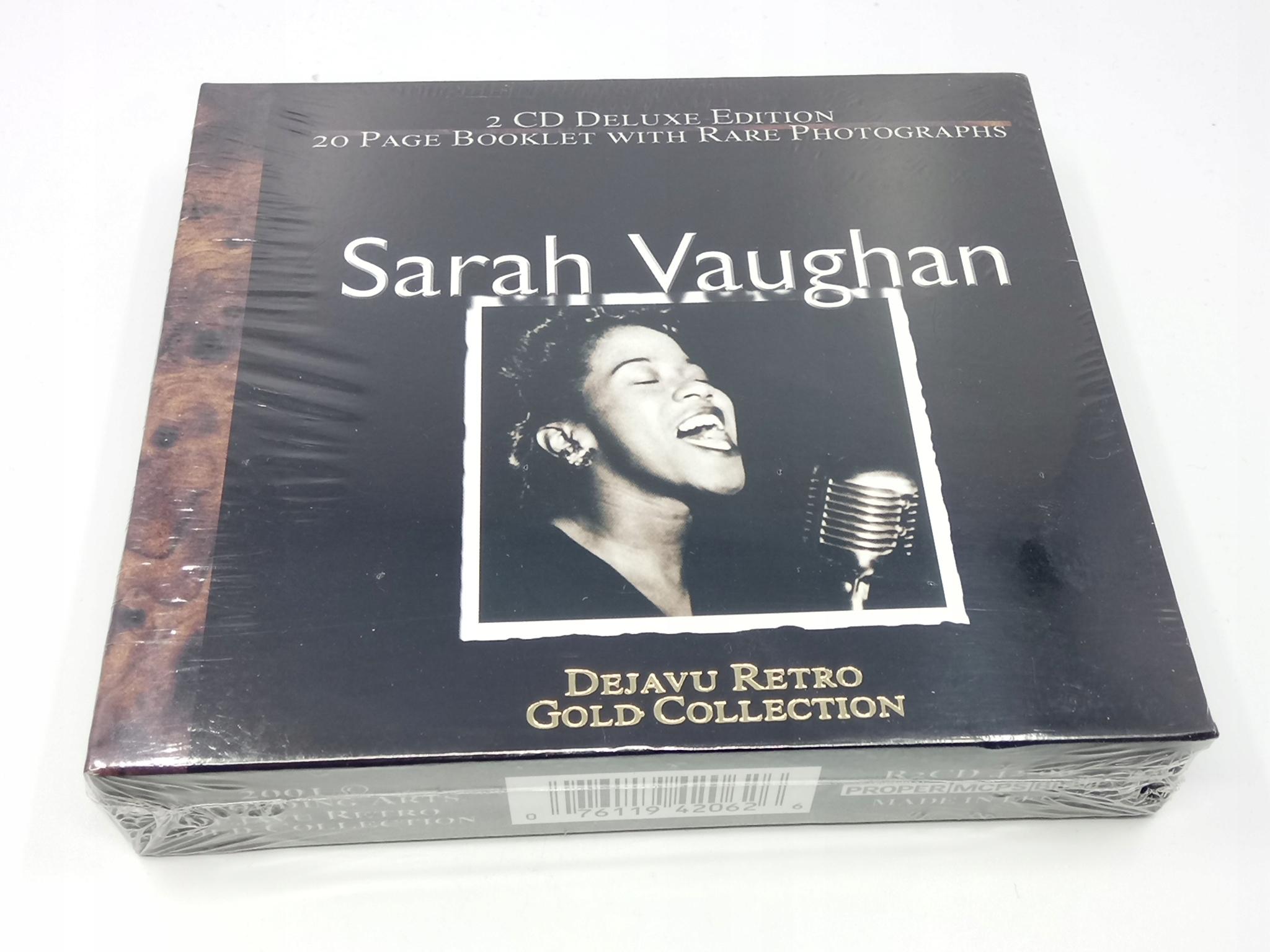 Sarah Vaughan - DEJAVU Retro Gold Collection 2CD