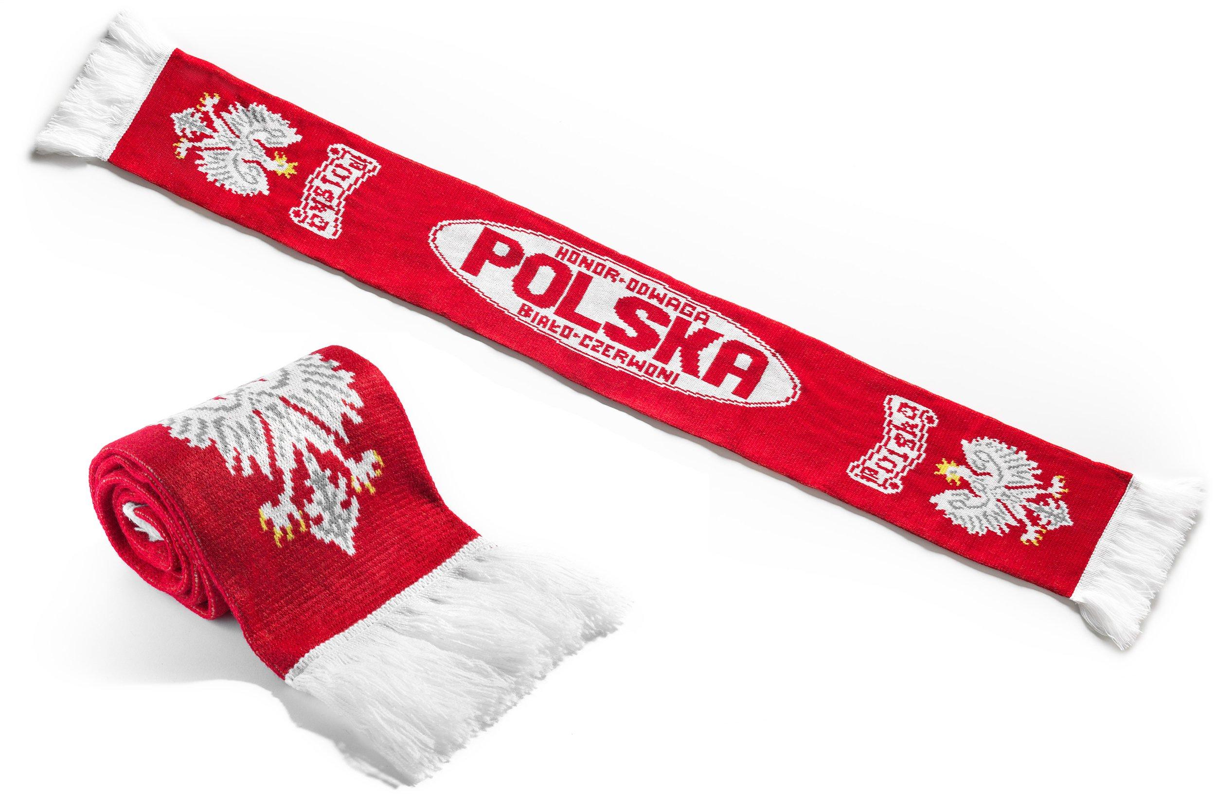 Scarf Polska Šatky Fan Reprezentácia Leštička6