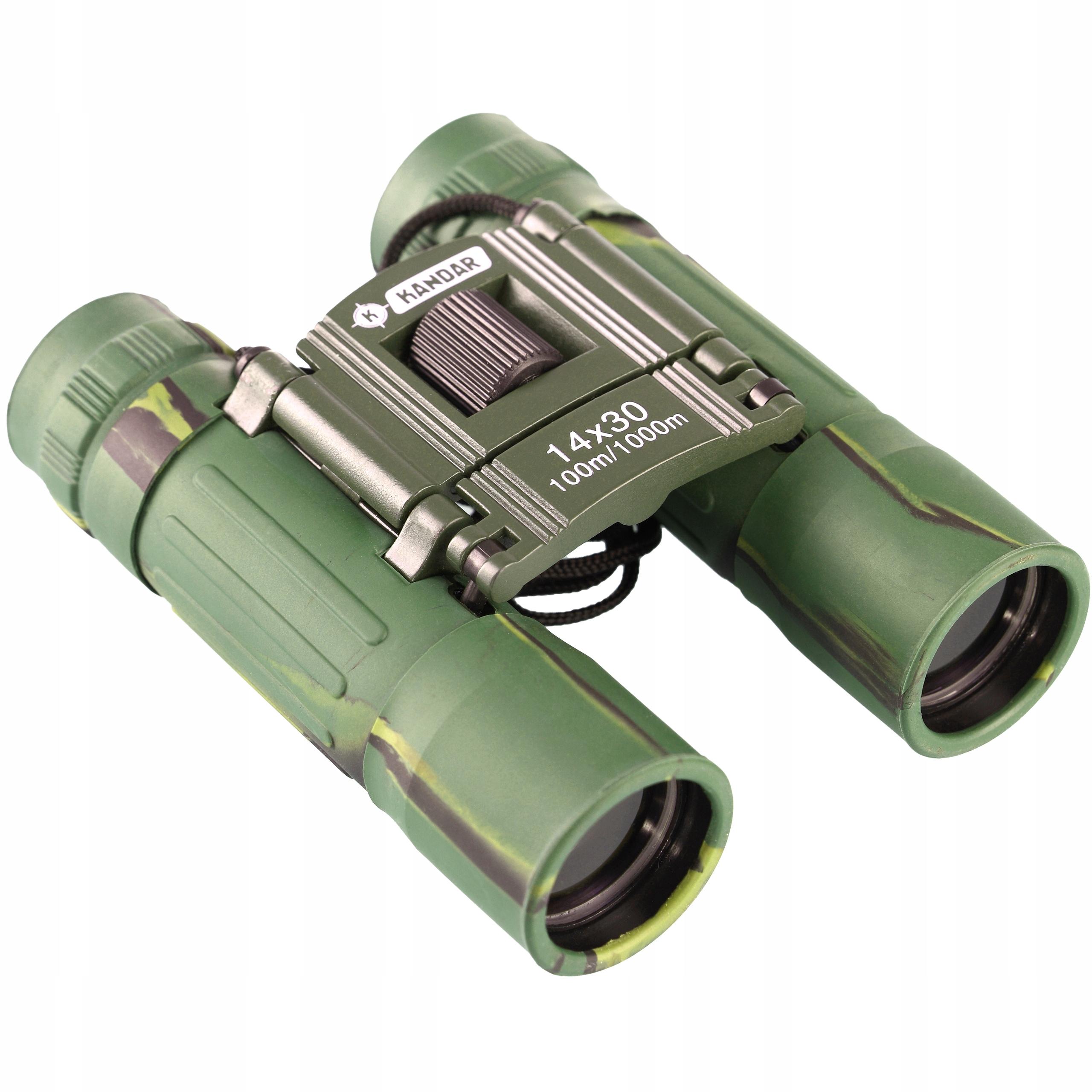 Item BINOCULARS, KANDAR 14x30 COMPACT BK-7 HD-HUNTING