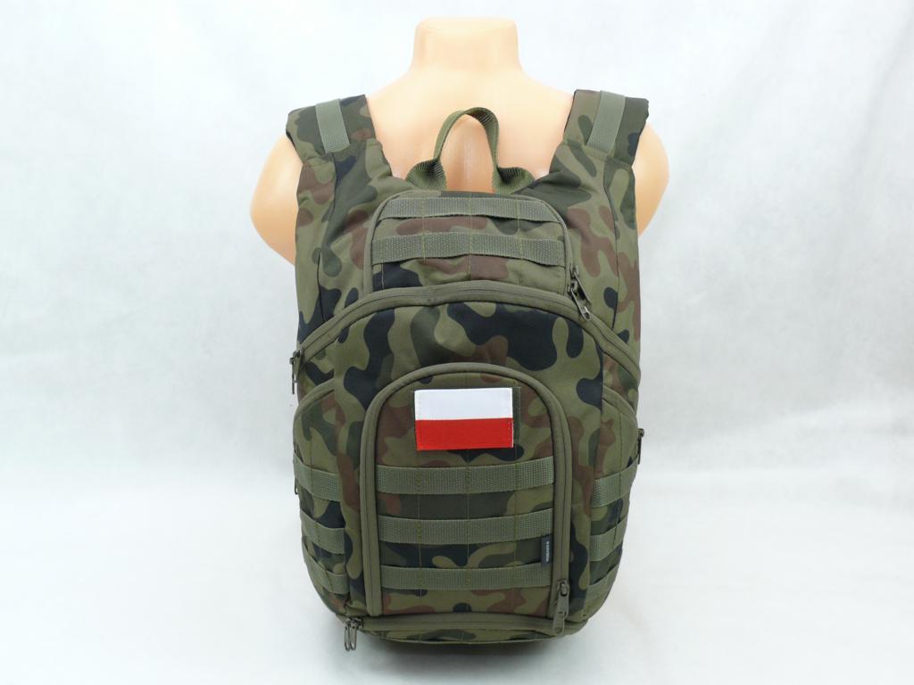 961096ad39e6e Polski Plecak Wojskowy Taktyczny Stelaż YKK 2 LATA
