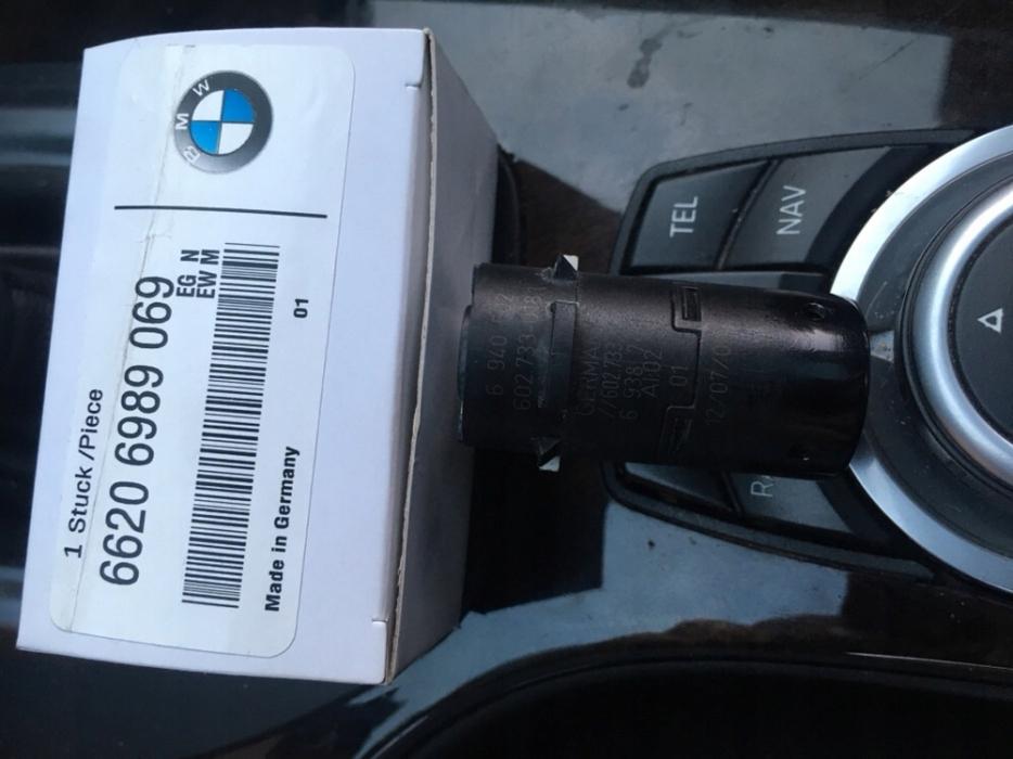 bmw e60 e61 e65 датчик pdc сзади, спереди парковки