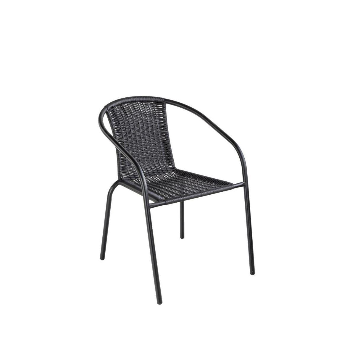 Krzesło Rattan Ogrodowe Tarasowe Balkonowe