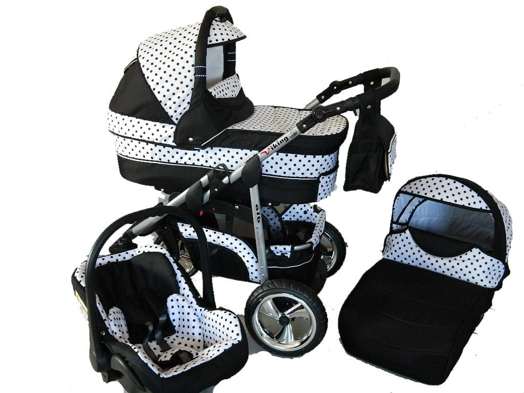 Wózek Dziecięcy  VIKING 3w1 FOTELIK i GRATIS pl