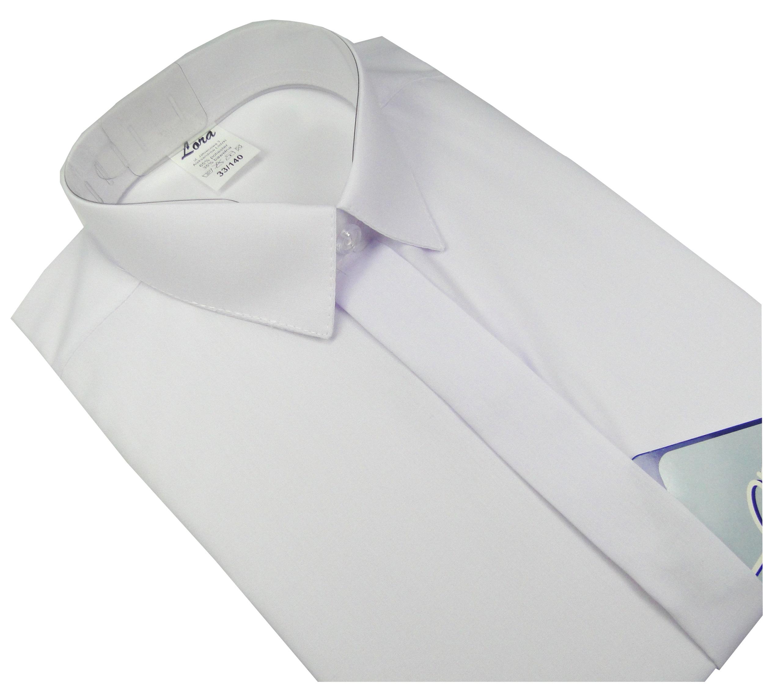 Koszula chłopięca wizytowa biała długi rękaw 146 7051824322  zcqw6
