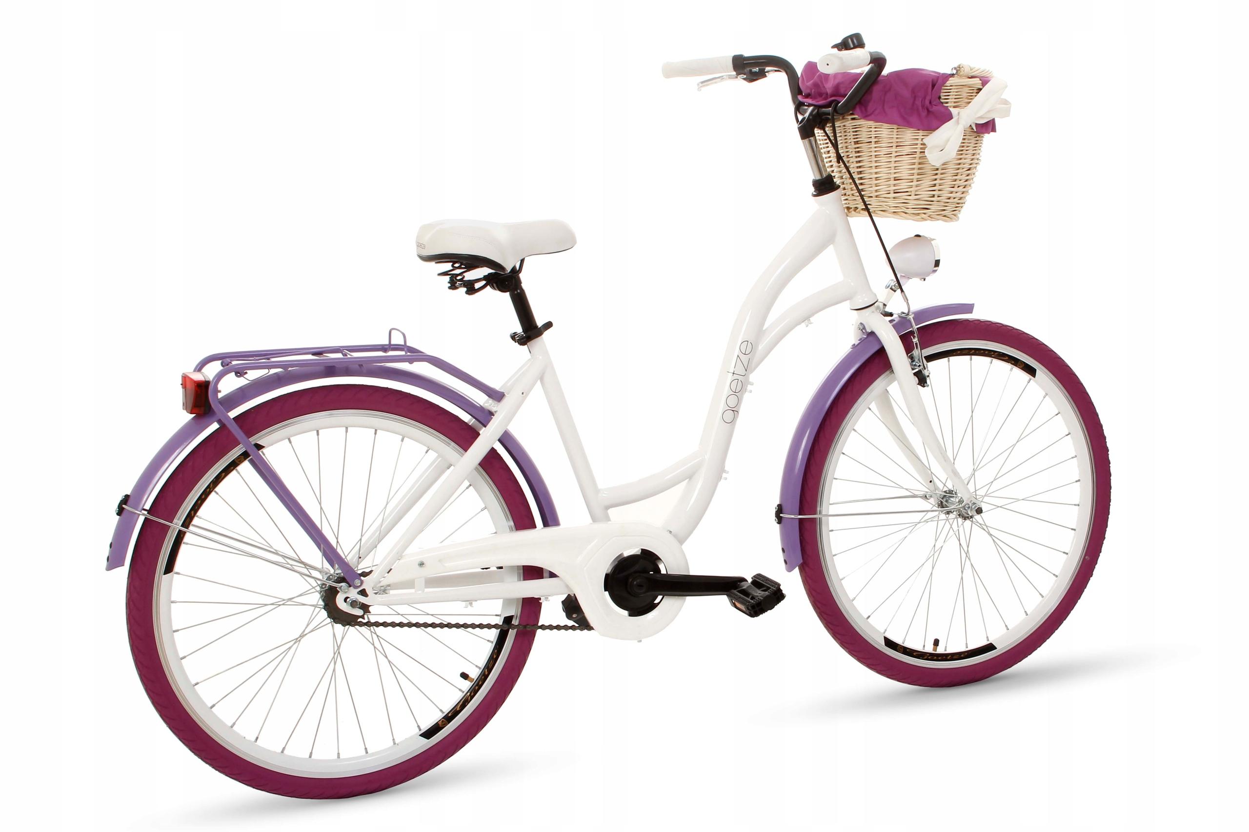 Dámsky mestský bicykel Goetze COLORS 26 košík!  Modelové farby
