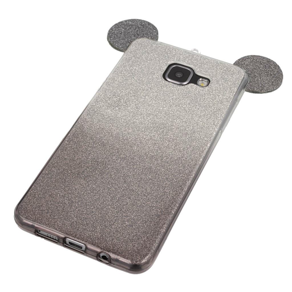 Etui Brokatowe Mysz Case na Samsung A5 2016 /szkło