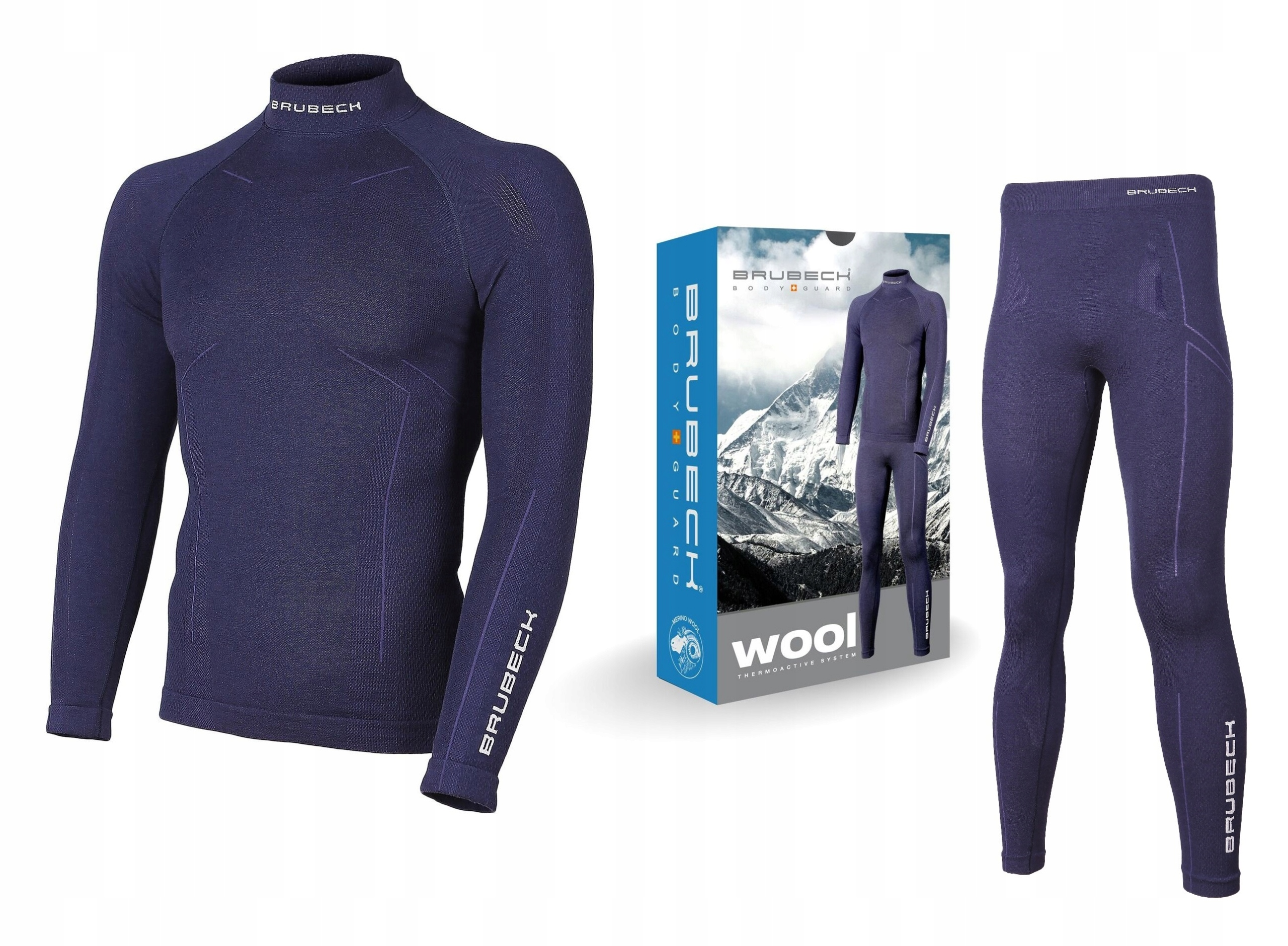 Brubeck Merino Wool MEN термобелье -М
