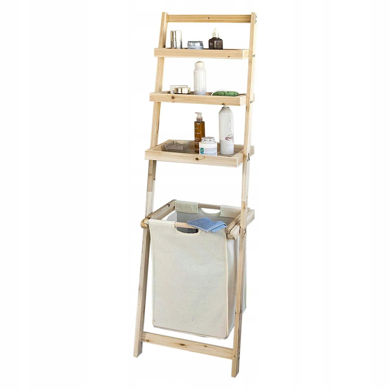 SoBuy FRG160-N skrinka rebríky pre kúpele