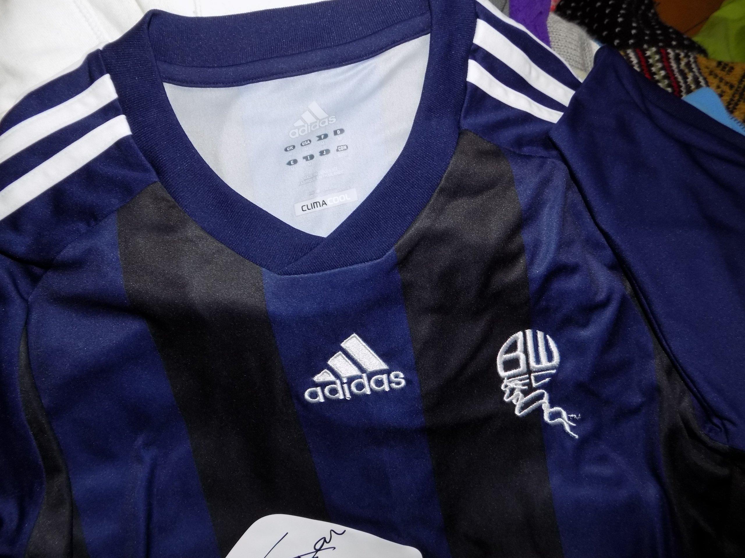 Adidas Bolton Wanderers koszulka męska klubowa M