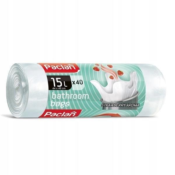 Мешки для ванной PACLAN ароматические белые 15l 40шт