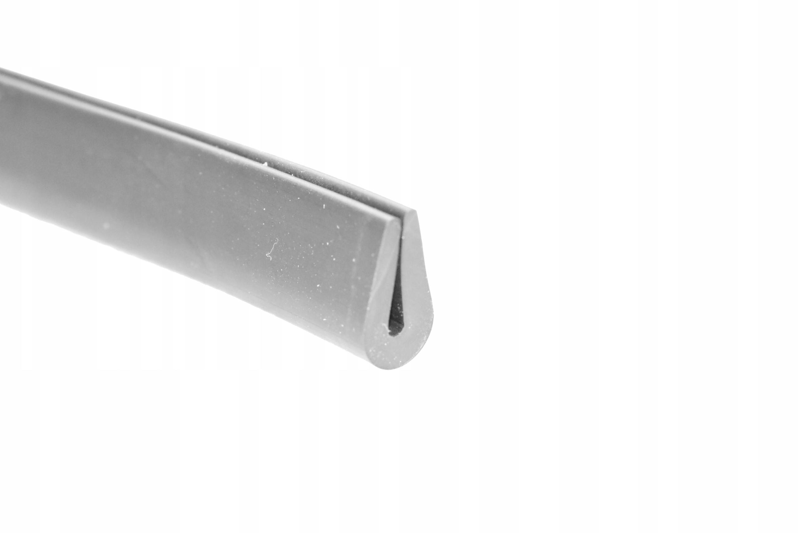 Резиновая прокладка по краю 3 мм - черная