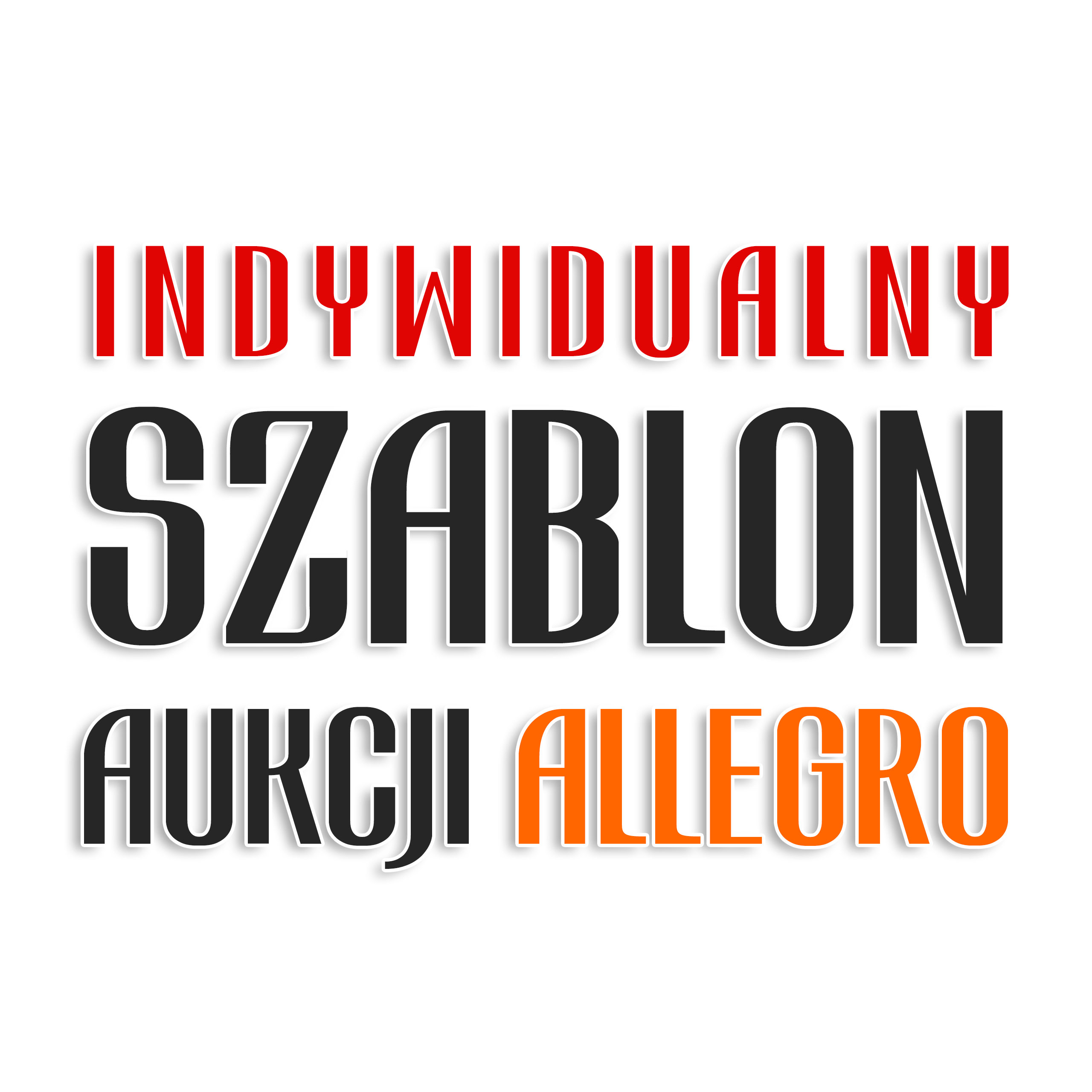 Indywidualny Szablon Aukcji Allegro Szablony Sklep Komputerowy Allegro Pl