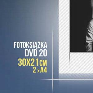 Item PHOTOBOOK DVD 20 TEMPLATES 30x42cm (30x21) 2x A4