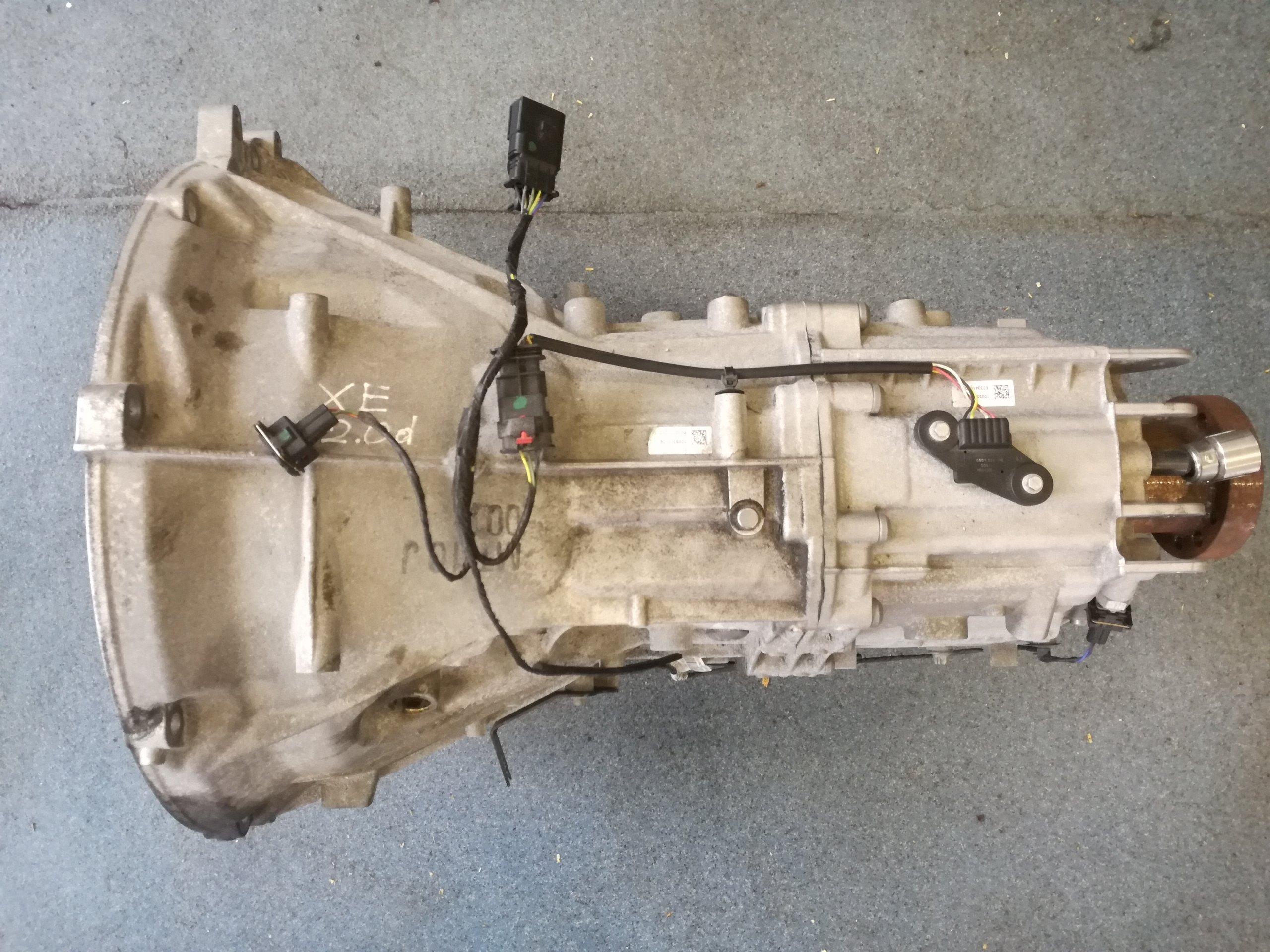 коробка передач торг jaguar xe xf 20 d 204dtd
