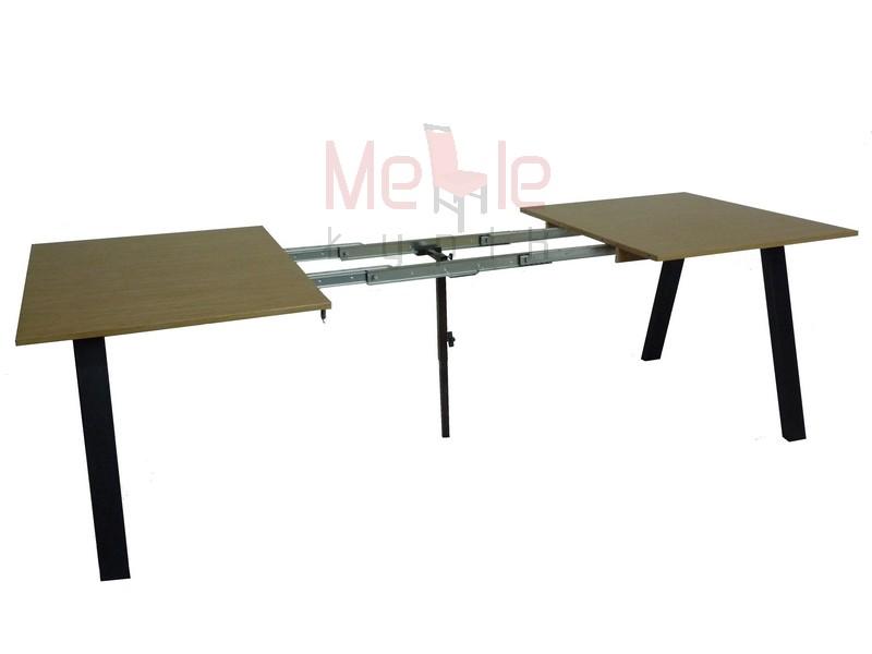 Posuvné tabuľka nohy kovové loft vintage design