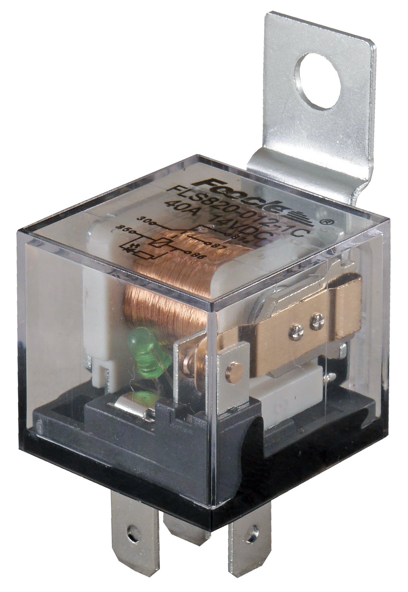 блок автомобильный 12v 40a 5 pin-код плотен led