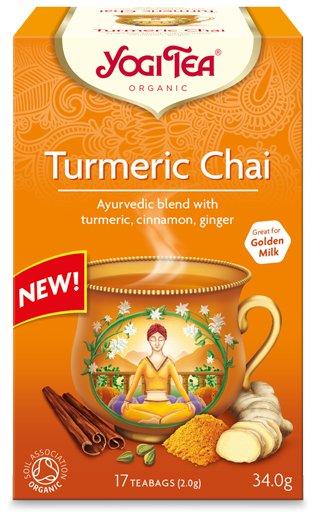 чай  чай Куркума био 17 x 2 ,0г Yogi Tea