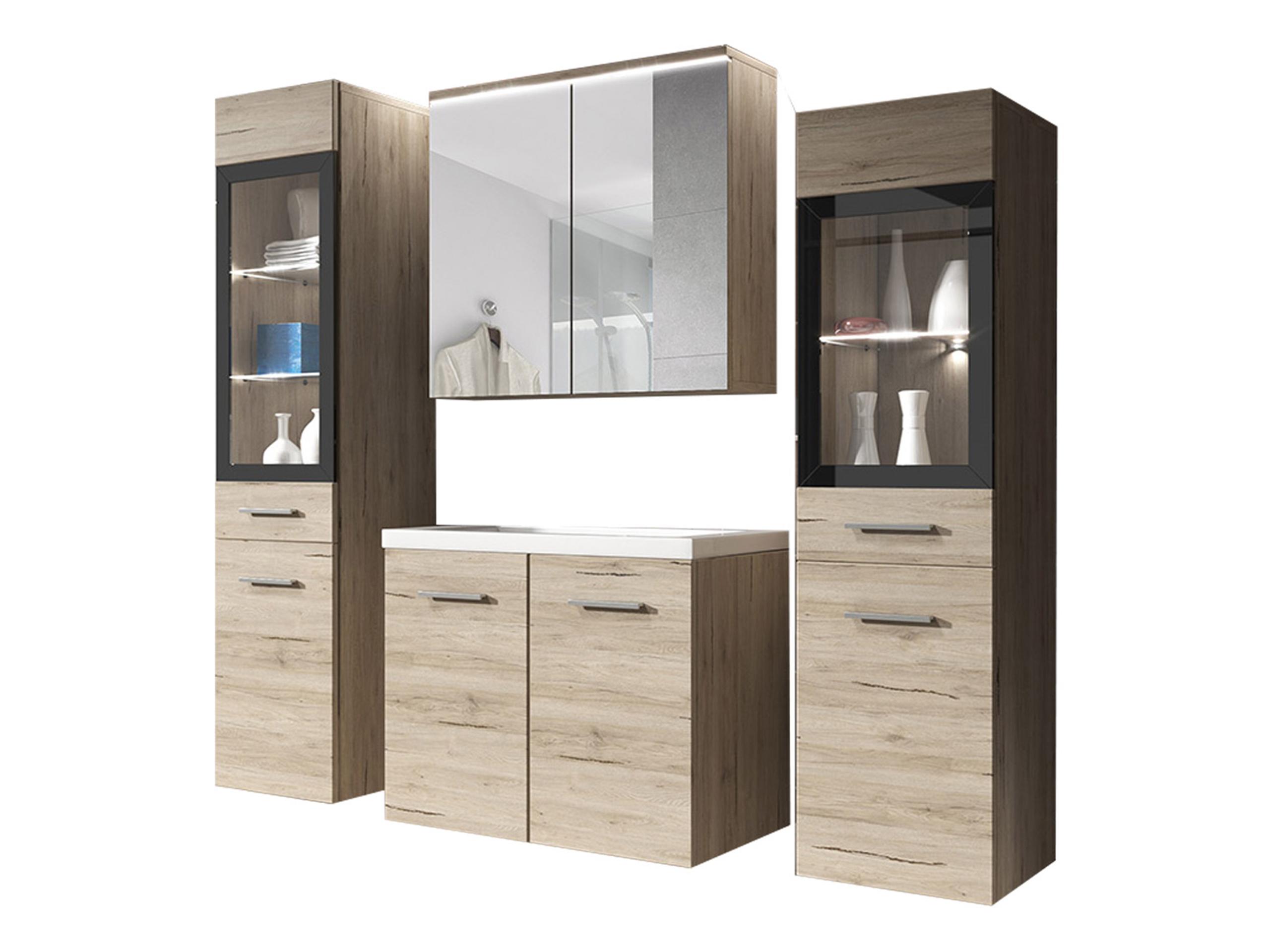 Мебель в ванную UDINE II  шкафчики Ванная комната Зеркало
