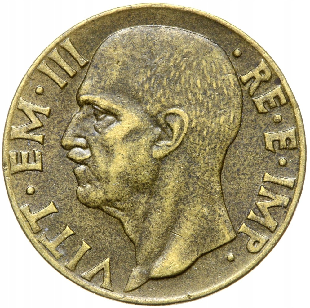 Taliansko - Wiktor Emanuel III - 10 CENTESIMI 1942