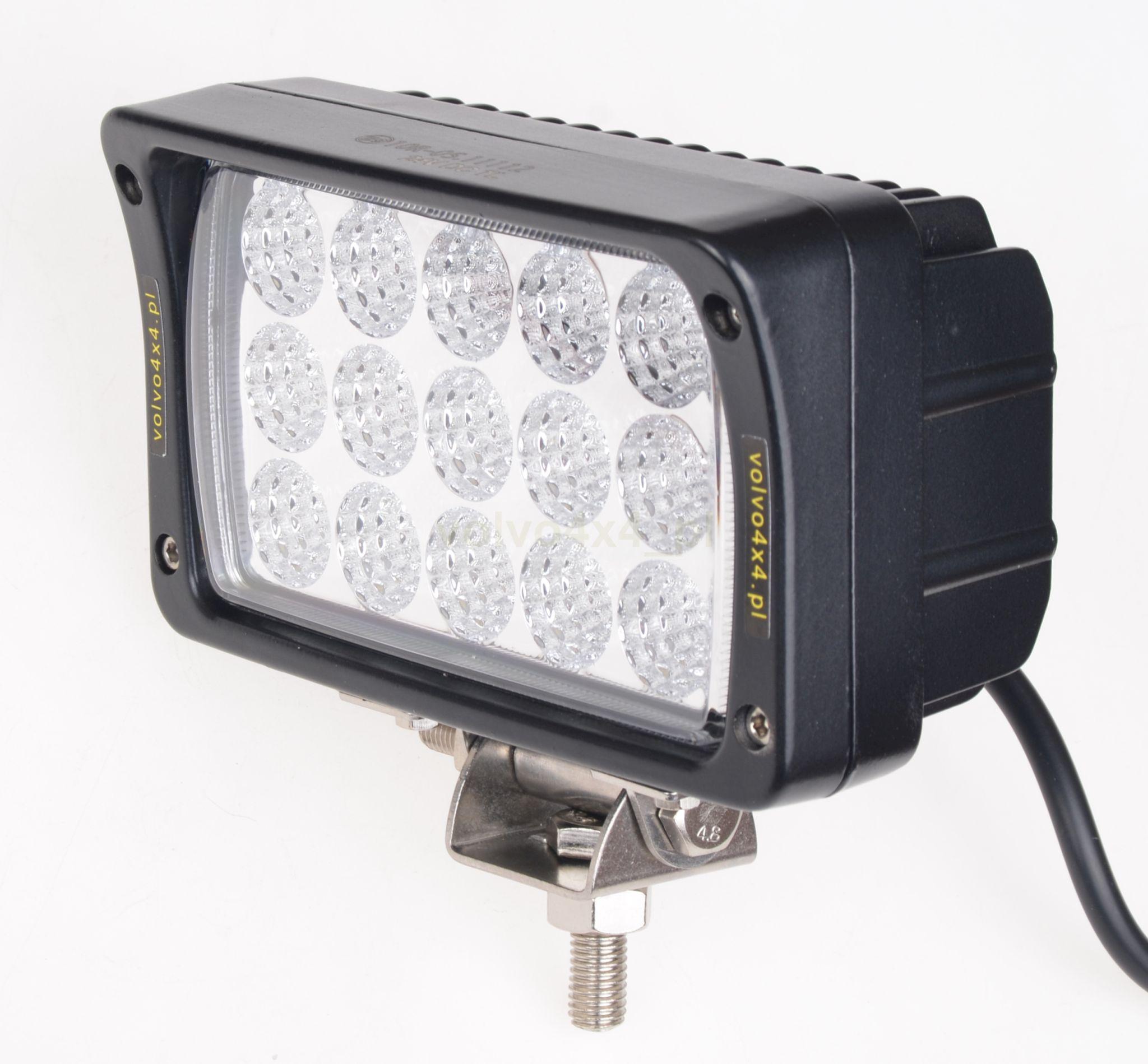 лампа рабочая 15x led 45w галоген комбайн экскаватор