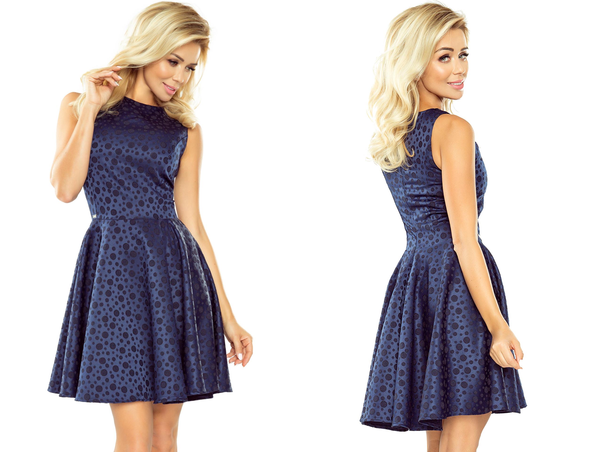 94d25589ed Modna Młodzieżowa Sukienka KOKTAJLOWA 125-22 L 40 7185639386 - Allegro.pl