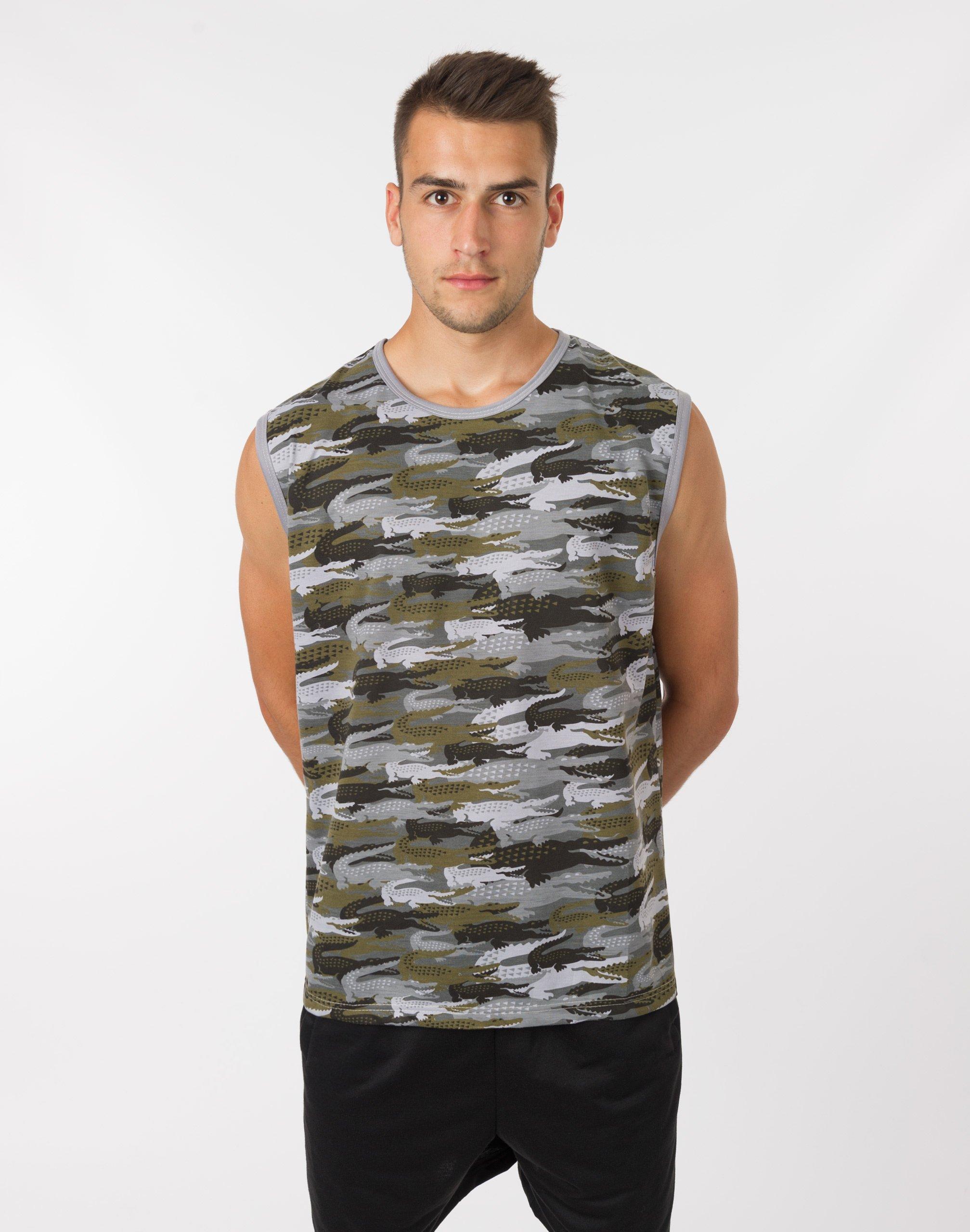 T shirt Koszulka Bez Rękawów Męska Moro 497 03 XXL  Y88MW