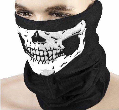 Балаклава маска bandama платок на лицо ЧЕРЕП