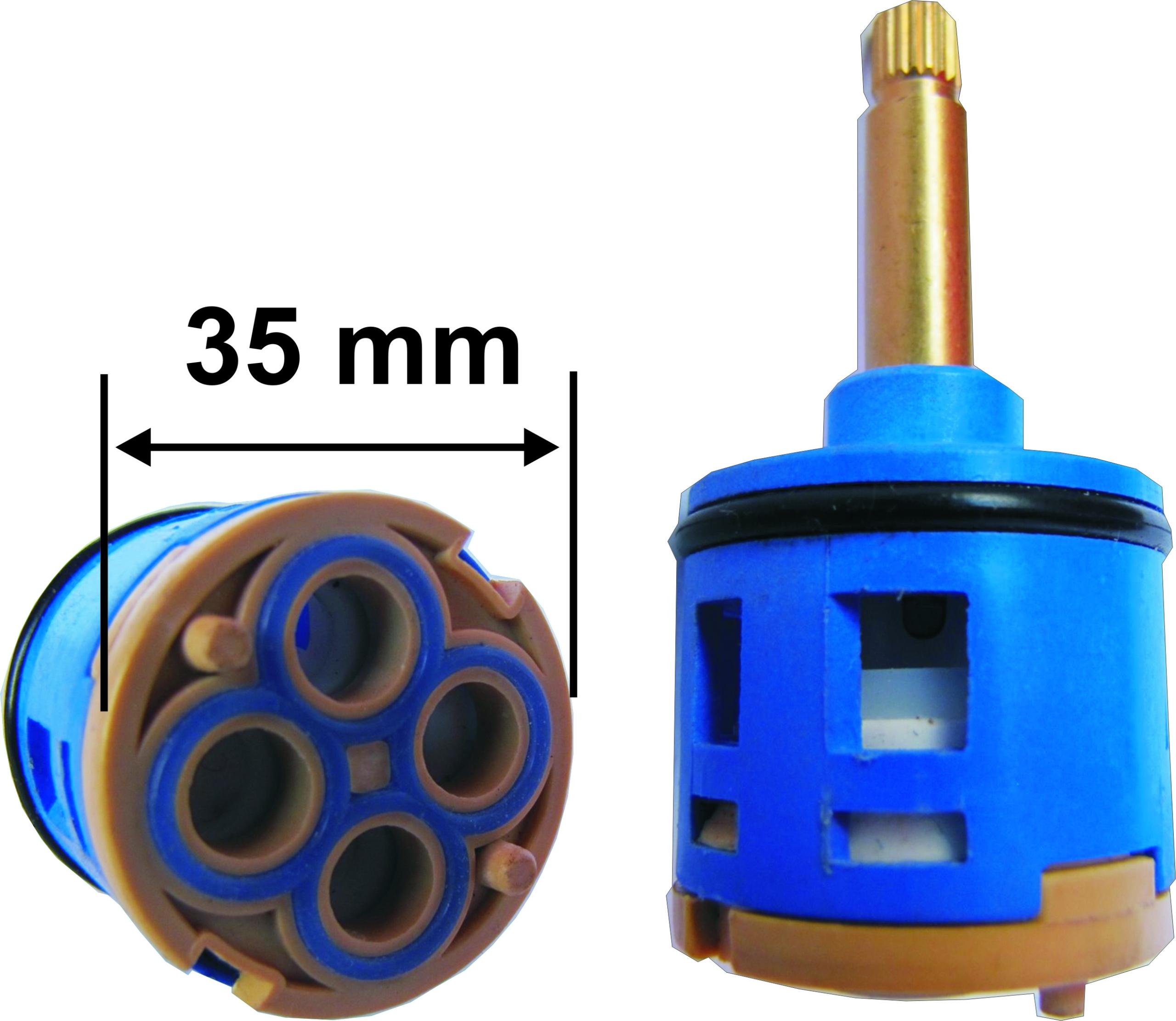 HLAVA - SPÍNAČ 4 FUNKCIE 35mm 29 / 36mm